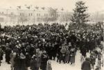 Пл. Ленина. 1-ое января 1947г.