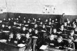 Рязанские школьники, конец 1940-начало 1950-х годов.