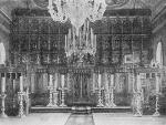Старообрядческий храм св. Великомученика Георгия в г. Егорьевске Рязанской губернии. Внутренний вид.