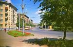 Улица Дзержинского, 1975 г. Фото Б.Н.Яхонтова