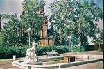 Фонтан у храма Спаса-на-Яру, 1962 г.